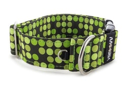 Hundhalsband Green Dots