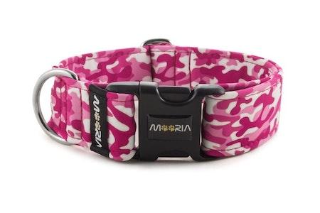 Hundhalsband Camouflage Pink