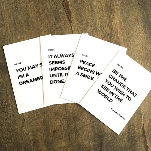 Peace Prints 4-pack