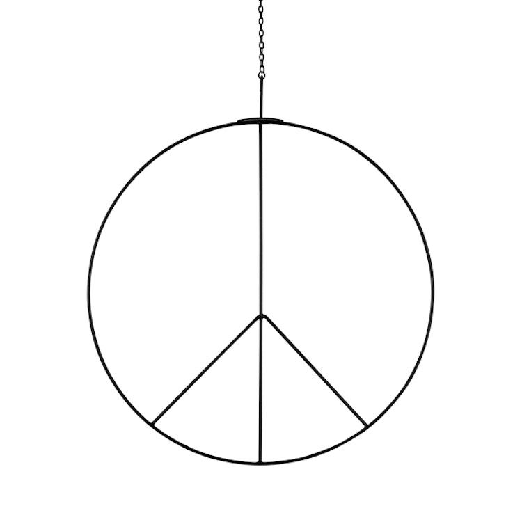Peacemärke hängande stort