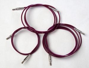 KnitPro Kabel till rundsticka, rosa