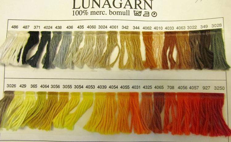 Lunagarn - Bruna nyanser