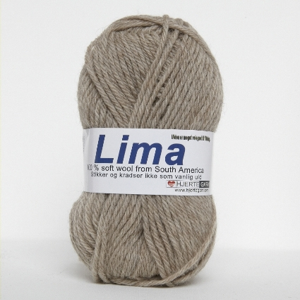 Hjertegarn Lima - Beige fg 282