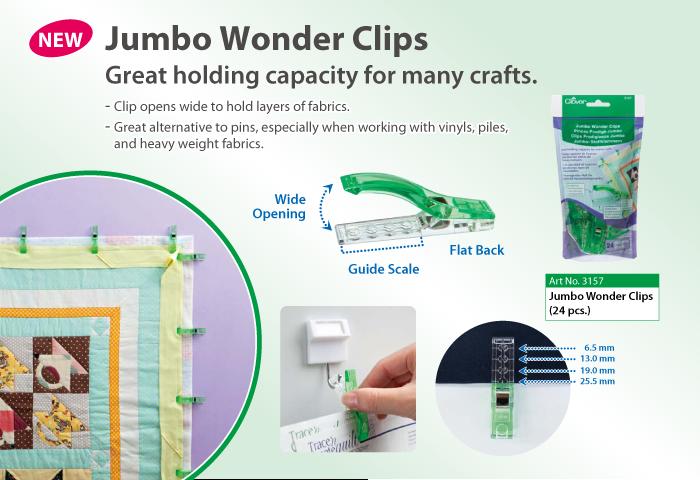 Clover Jumbo Clips