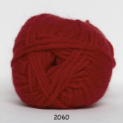 Hjertegarn Lima - Röd fg 2060