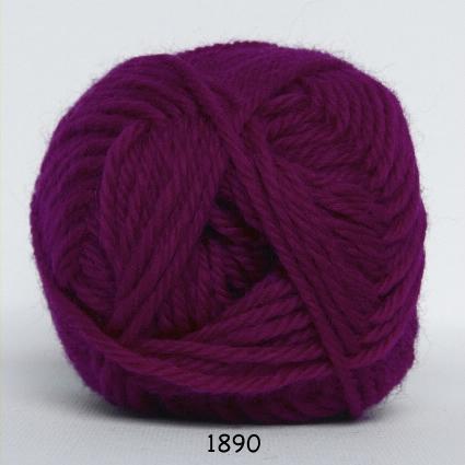 Hjertegarn Lima - Plommon fg 1890
