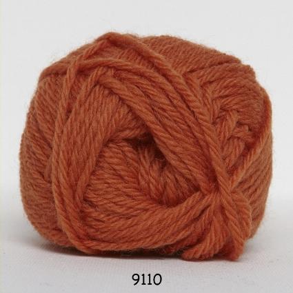 Hjertegarn Lima - Orange fg 9110