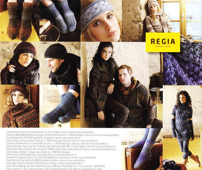 Mönsterhäfte Regia Journal 002 - Highland Tweed