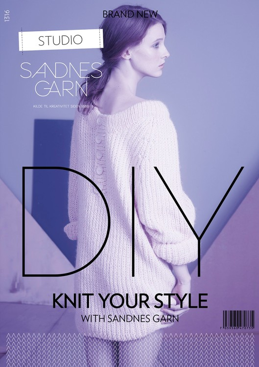 Mönsterhäfte 1316 DIY – Knit your style with Sandnes Garn