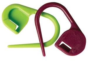KnitPro Låsbara Stickmarkörer - 30 st/frp