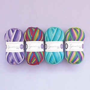WYS Signature 4 Ply - Winwick Mum Collection