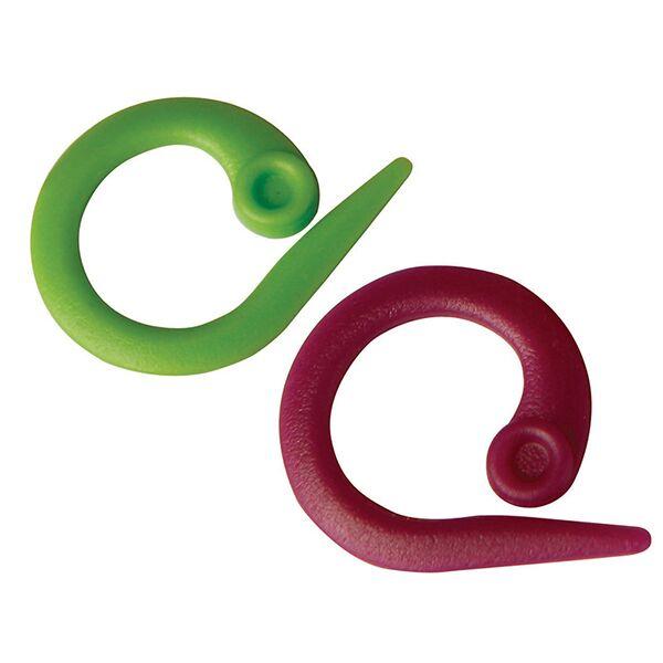 KnitPro Öppningsbara Stickmarkörer - 30 st/frp