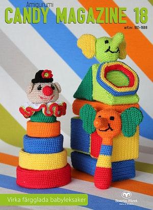 Candy Magazine nr 18 - Virka färgglada babyleksaker
