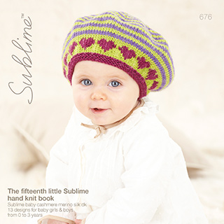 The Fifteenth Little Sublime Hand Knit Book (676) från Sirdar