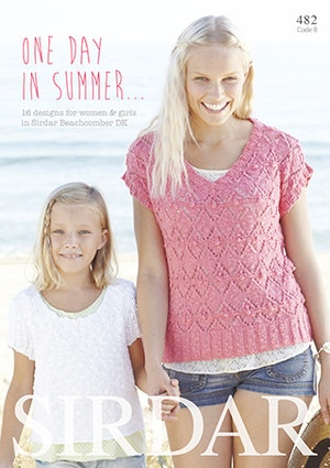 One Day In Summer Book (482) från Sirdar