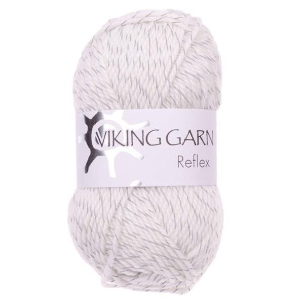 Reflex från Viking Garn - Vit färg 400