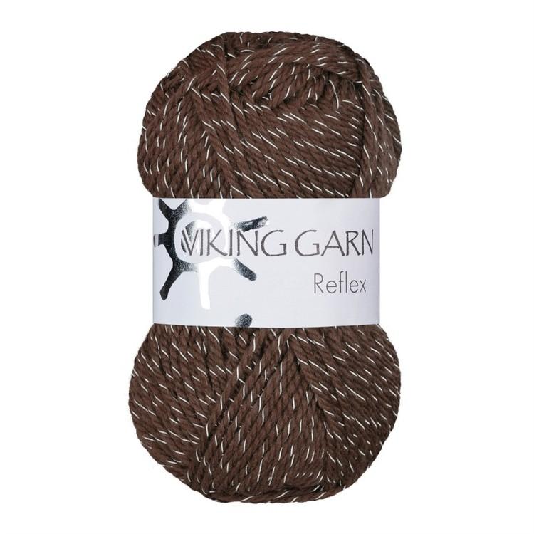 Reflex från Viking Garn - Brun färg 408