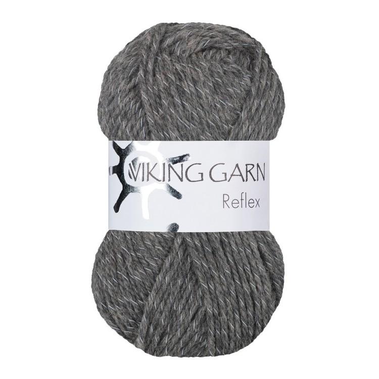 Reflex från Viking Garn - Grå färg 415