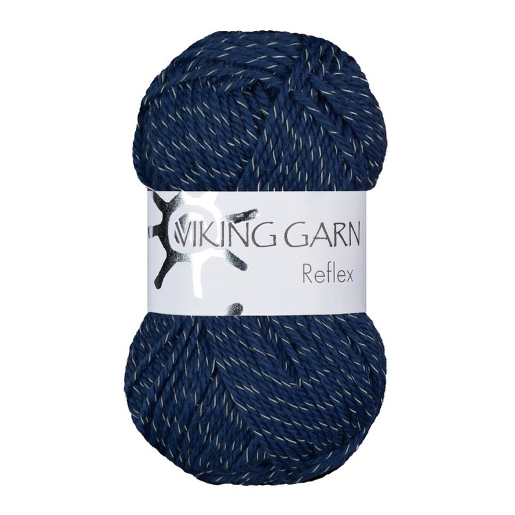 Reflex från Viking Garn - Marinblå färg 426