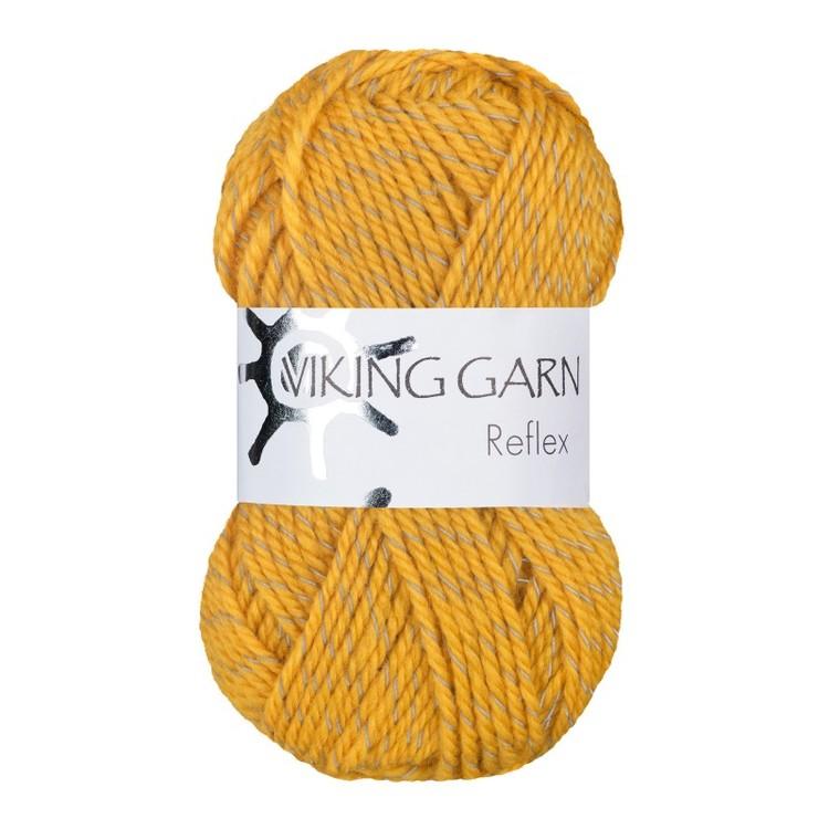 Reflex från Viking Garn - Mörkgul färg 440