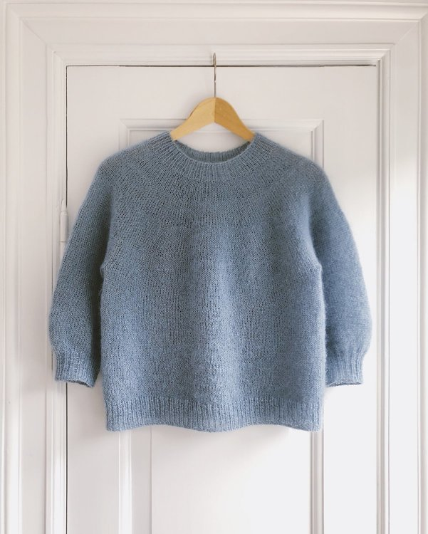 PetiteKnit - Mönster Novis Sweater Mohair Edition