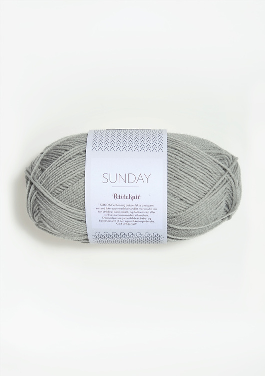 SUNDAY PetiteKnit Foggy Grey 1031
