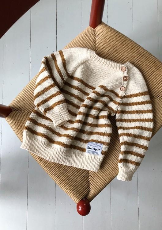 PetiteKnit - Mönster Seaside Sweater