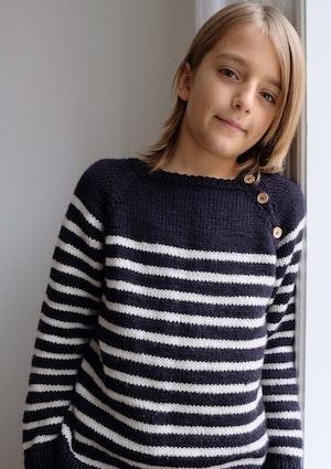 PetiteKnit - Mönster Seaside Sweater Junior