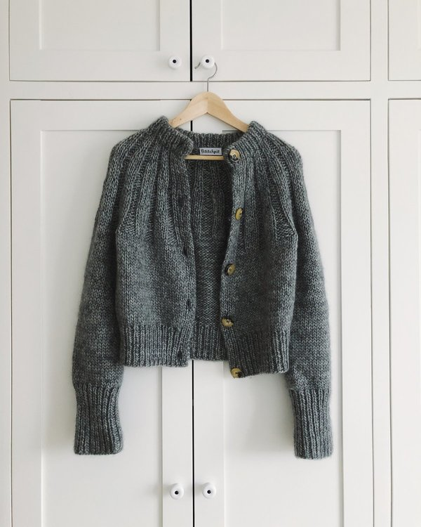 PetiteKnit - Mönster Sunday Cardigan