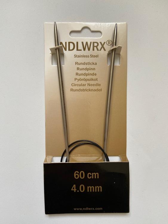 NDLWRX Rundsticka i stål - 4,0 mm - 60 cm
