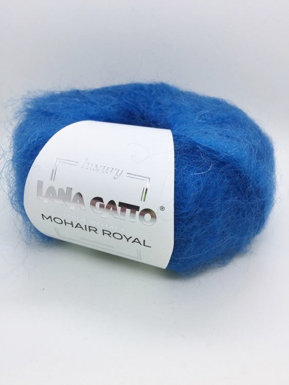 Lana Gatto - Mohair Royal Blå fg 7263