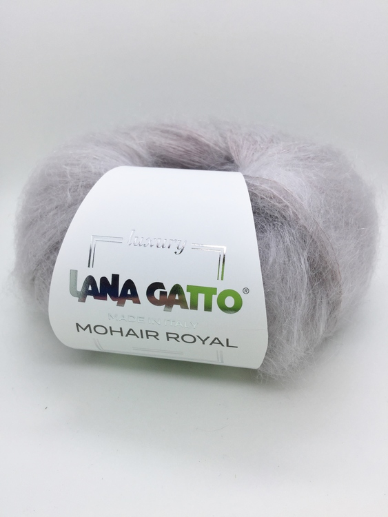 Lana Gatto - Mohair Royal Ljung fg 2103