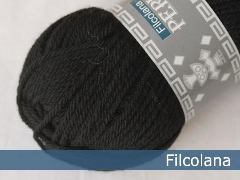 Filcolana Peruvian Highland Wool - Black fg 102