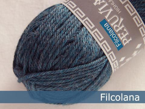 Filcolana Peruvian Highland Wool - Storm Blue (melange) fg 814