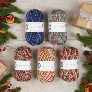 WYS Signature 4 Ply - Christmas Collection 2020