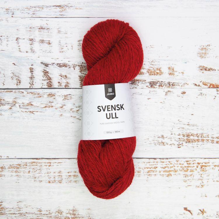 Järbo Garn - Svensk Ull - Falu Red fg 011