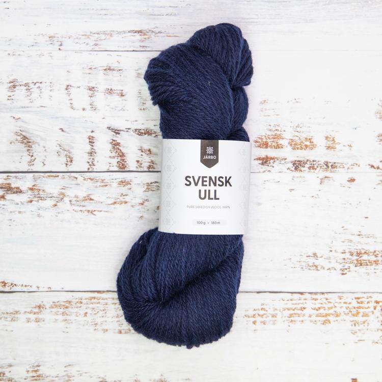 Järbo Garn - Svensk Ull - Bergslagen Dark Blue fg 015