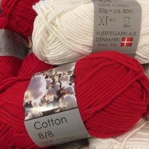 Hjertegarn Cotton 8/8 Bomullsgarn