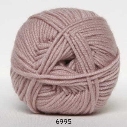 Hjertegarn Merino Cotton - Puderrosa fg 6995