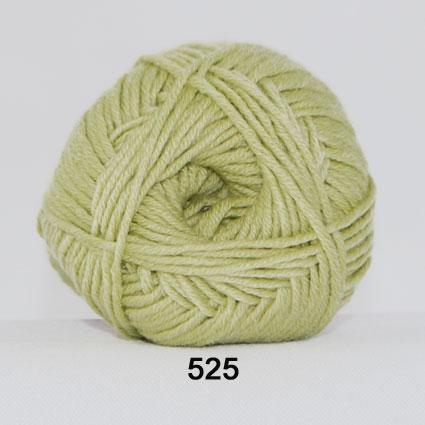 Hjertegarn Merino Cotton - Ljusgrön fg 525