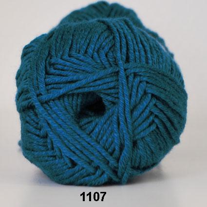 Hjertegarn Merino Cotton - Petrol fg 1107