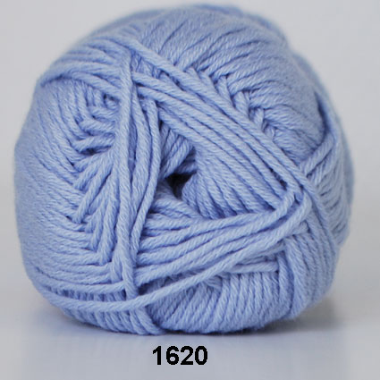 Hjertegarn Merino Cotton - Ljusblå fg 1620