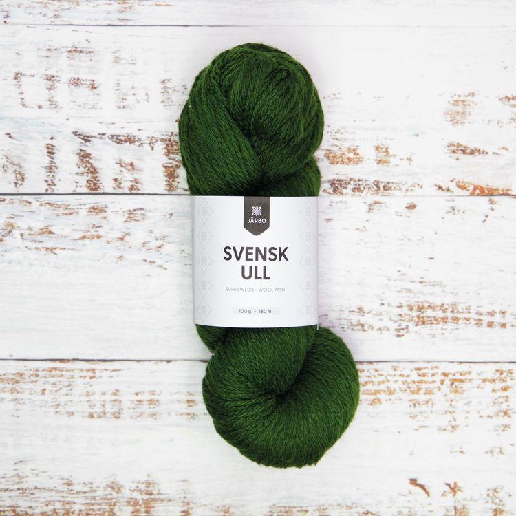 Järbo Garn - Svensk Ull - Pine Tree Green fg 008