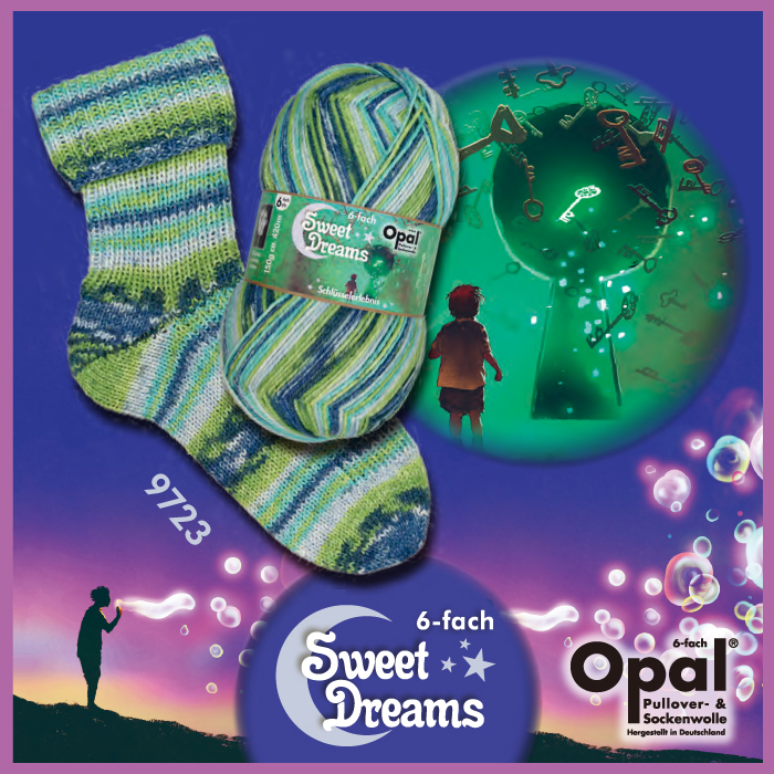 Opal Sweet Dreams - 6-trådigt - fg 9723