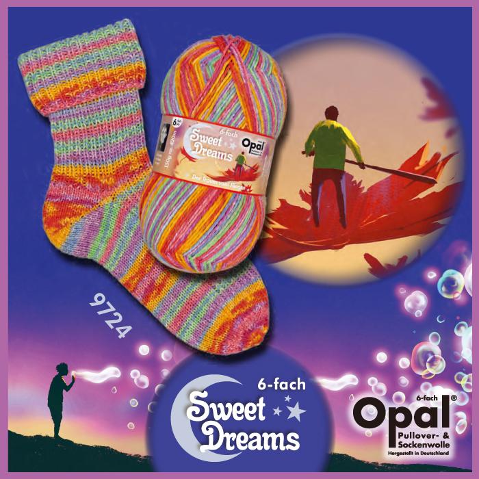 Opal Sweet Dreams - 6-trådigt - fg 9724