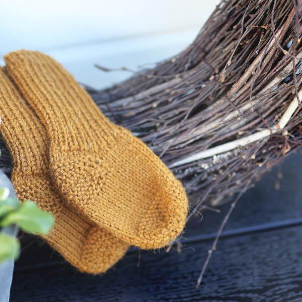 KlompeLOMPE Mönsterhäfte - Vårstrikk i Spøt Tårille-sokk