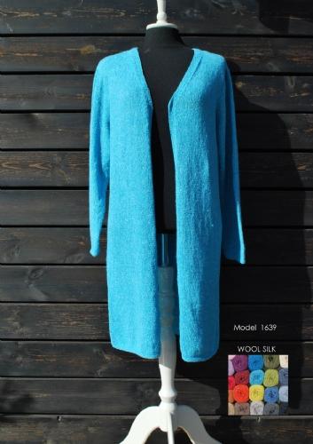 Hjertegarn Mönsterhäfte 168 - Organic 350 el Wool Silk