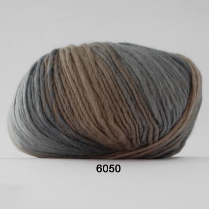 Hjertegarn Incawool  - Grå/brun fg 6050
