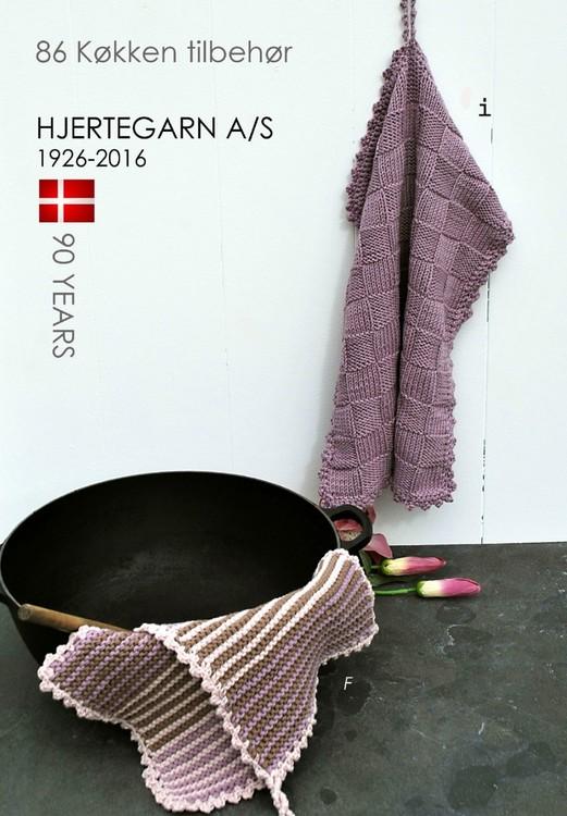 Hjertegarn Mönsterhäfte - Tillbehör nr 86 Kök