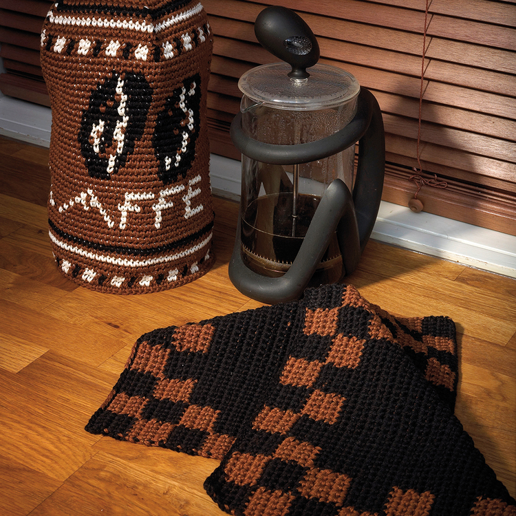 Solberg - Virkhäfte nr 56 Kaffevarmer og grytekluter Hi 0907